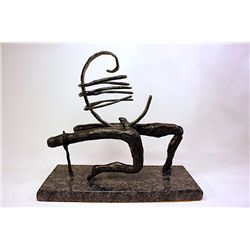 Salvador Dali Enchanting Limited Edition Bronze- FARANESE MANIEQUIN
