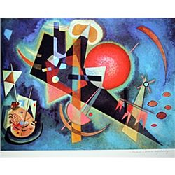 Limited Edition Kandinsky- In Blue - Collection Domaine Kandinsky