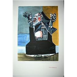 Limited Edition Picasso - Woman Crying - Collection Domaine Picasso