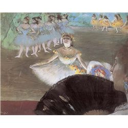 Dancer With Bouqet - Edgar Degas - Limited Edition on Canvas