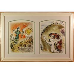 Chagall Original Lithographs .
