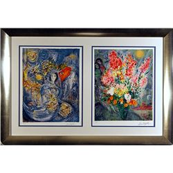Chagall Limited Edition Lithographs Set-