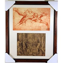 Original Museum Lithographs Set- printed in the late 1800s to early 1900s