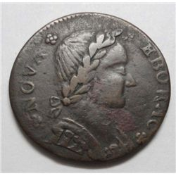 Scarce 1787 Nova Eborac-New York XF