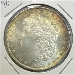 1890  Morgan $  MS63