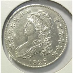 1828 Bust half $    XF/AU coin probably