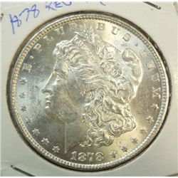 1878 rev 79  Morgan $  MS62/63