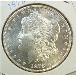 1878 8F  Morgan $  MS62/63