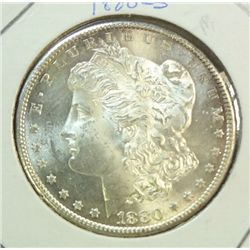 1880S  Morgan $  MS63/64