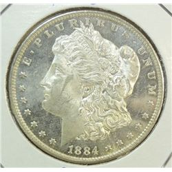 1884O  Morgan $  MS62/63