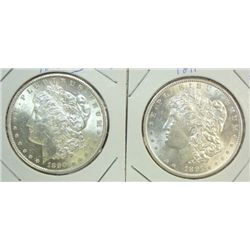 1890S - 1891 Morgan $  MS61  both are nice 63's reverse