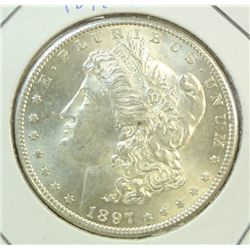 1897S  Morgan $  MS63