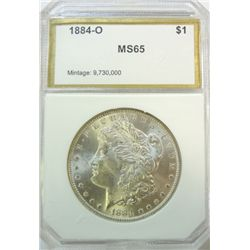 1884O Morgan $   PCI65  but we grade MS64