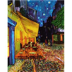Cafe Terrace At Night - Van Gogh - Limited Edition on Canvas