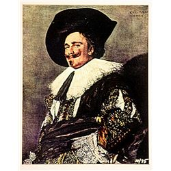 Franz Halls  Signed Limited Edition - The Laughin Cavalier