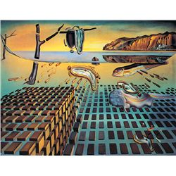 The Disentigration Of The Persistence Of Memory - Dali - Limited Edition on Canvas