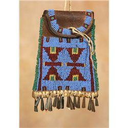 Sioux Strike-a-Lite Bag, circa 1890