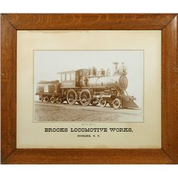 Brooks Locomotive Works Photograph