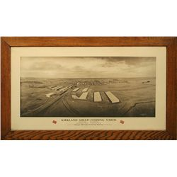 Chicago, Milwaukee & St. Paul Railway Photo Print, Kirkland Sheep-Feeding Yards
