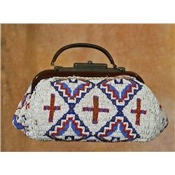 Sioux Beaded Doctor's Bag, 19th century