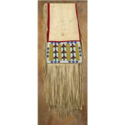 Blackfeet Beaded Saddle Drape, circa 1900-1910
