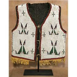Sioux Beaded Vest, circa 1885