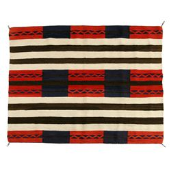 "Navajo Second Phase Chief's Blanket, 5'2"" x 4'2"""