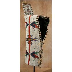 Sioux Beaded Cradle, circa 1890