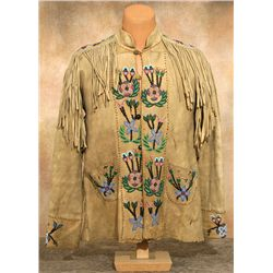 Chippewa Beaded Coat, circa 1870-1880