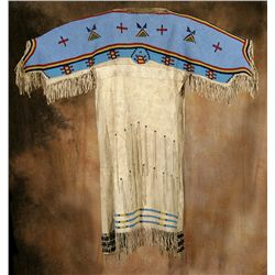 Sioux Beaded Dress, circa 1880s