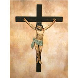 Large Antique Crucifix, Meyers Collection