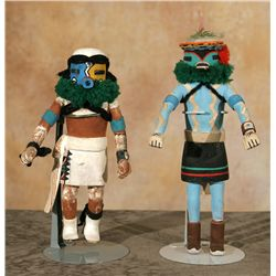 Hopi Kachina Carvings, Meyers Collection