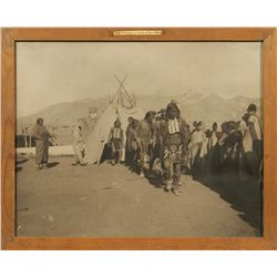 Taos Indian Dancer Photograph, Meyers Collection