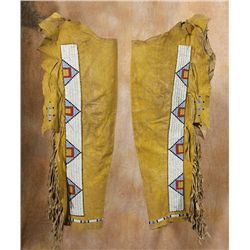 Cheyenne Beaded Leggings, circa 1885