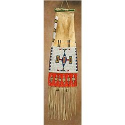 Sioux Beaded & Quilled Pipebag, circa 1890