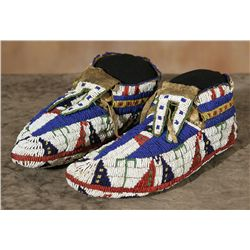 Sioux Ceremonial Moccasins, circa 1880s