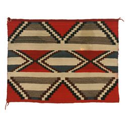 "Navajo Third Phase Chief's Blanket, 4'11"" x 3'8"""
