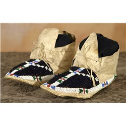 Sioux Woman's Moccasins, circa 1890s