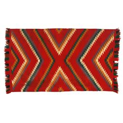 "Navajo Germantown Weaving, 5'7"" x 3'2"""