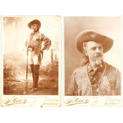 Buffalo Bill Cody Cabinet Cards