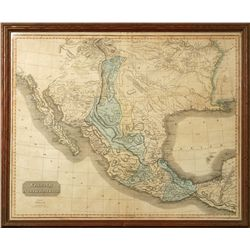 Antique Spanish North American Map