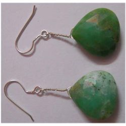 Natural 40.90 ctw Semi Precious Earring .925 Sterling
