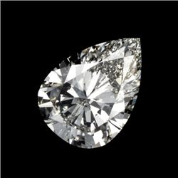 Diamond EGL Certfied Pear 0.70 ctw D, SI1