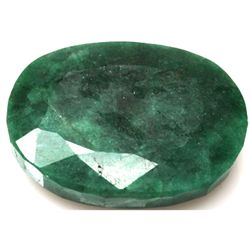 African Emerald Loose Gems 195.11ctw Oval Cut