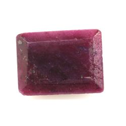 Natural 44.48ctw Ruby Emerald Cut Stone