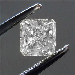 Diamond GIA Cert.ID:2141530683 Square 1.10 ctw D, VS2