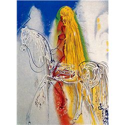 Lady Godiva- Dali - Limited Edition on Canvas