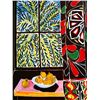 The Egyptian Curtain - In the manner of Matisse - Limited Edition on Canvas