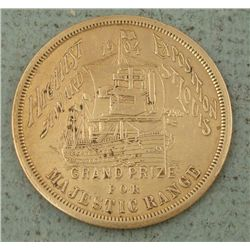 Rare 1904 Grand Prize St Louis Worlds Fair Token Hi Grd