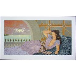 Muramasa Kudo TWILIGHT REFLECTIONS Signed LE Art Print